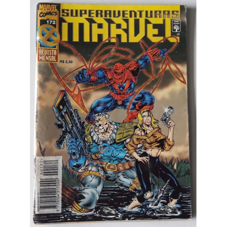 Superaventuras Marvel nº 172 /Abril