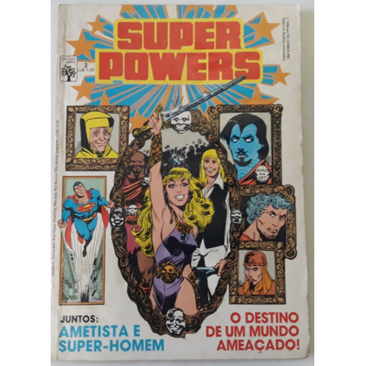 Super Powers nº 2 /Abril