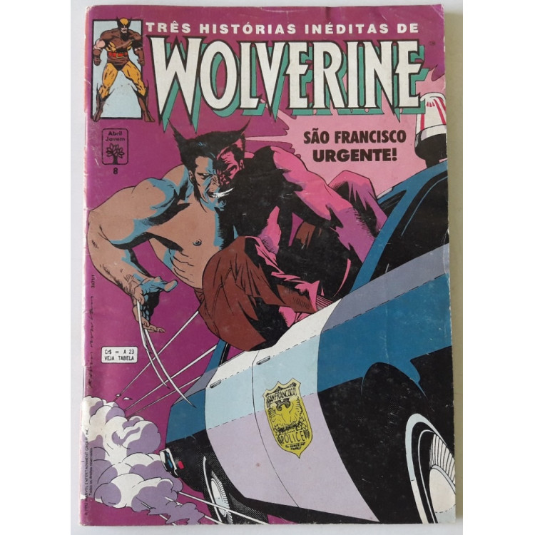 Wolverine nº 8 /Abril