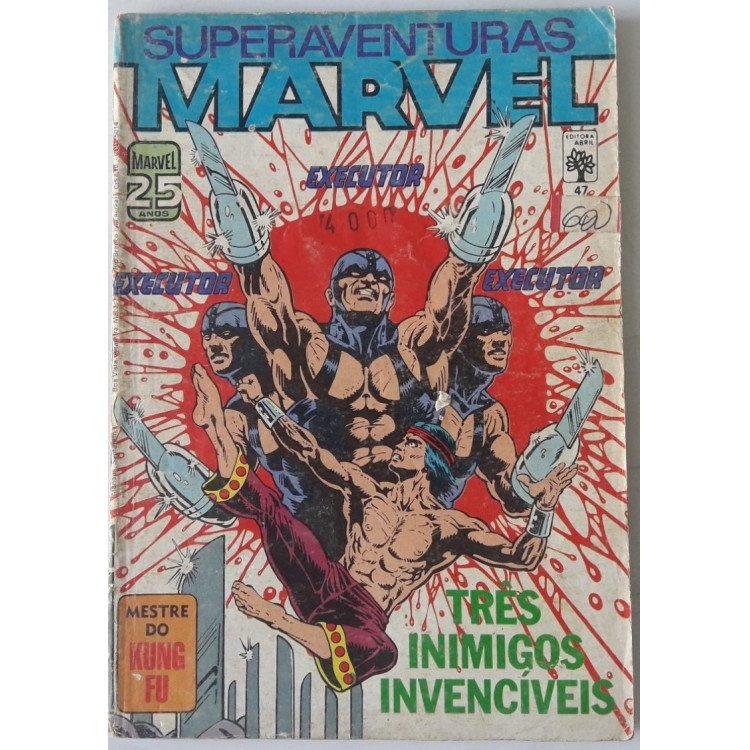 Superaventuras Marvel nº 47 /Abril