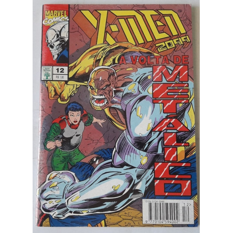 X-Men 2099 nº 12 /Abril
