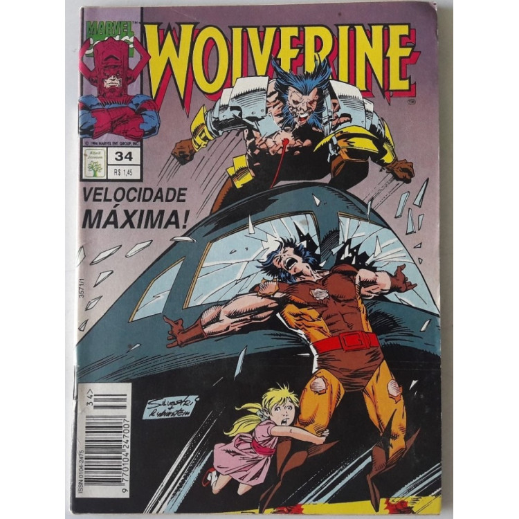 Wolverine nº 34 /Abril