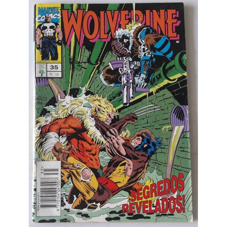 Wolverine nº 35 /Abril