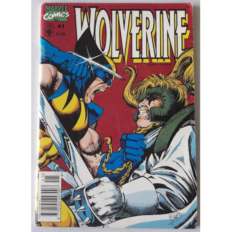 Wolverine nº 41 /Abril