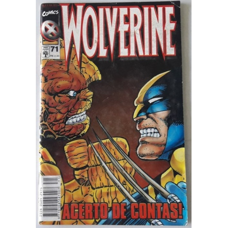Wolverine nº 71 /Abril