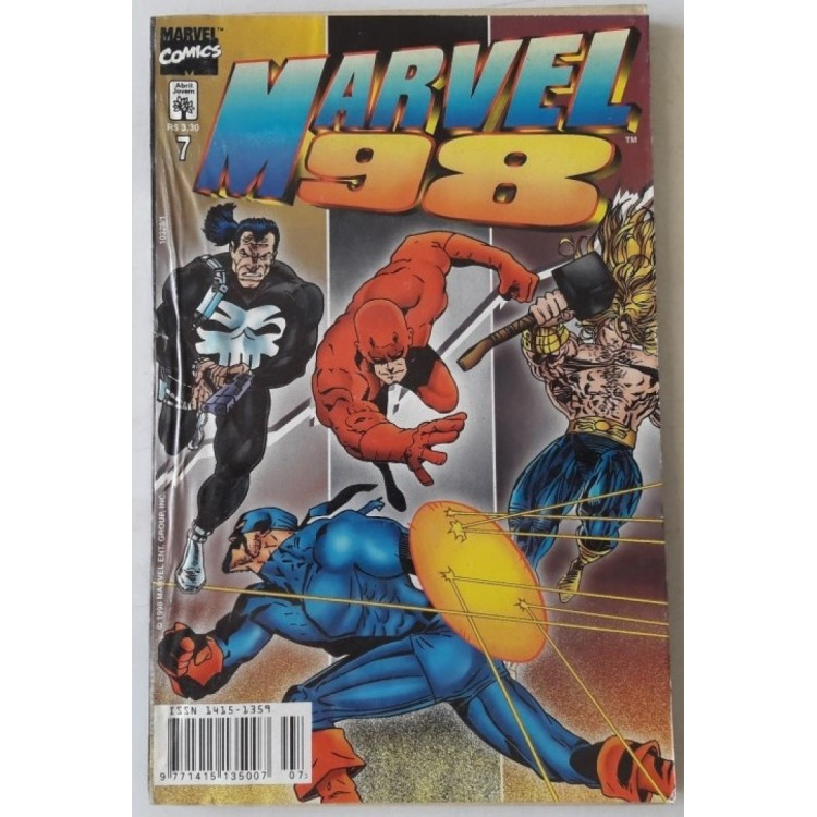 Marvel 98 nº 7 /Abril