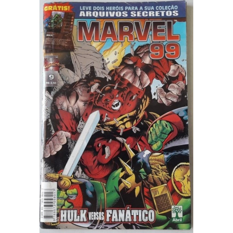 Marvel 99 nº 9 /Abril