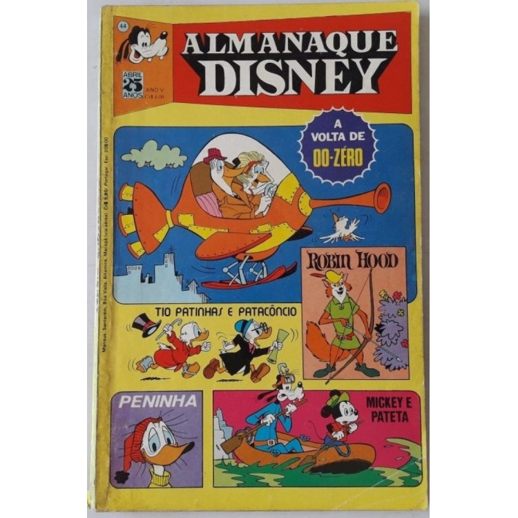 Almanaque Disney nº 44 /Abril