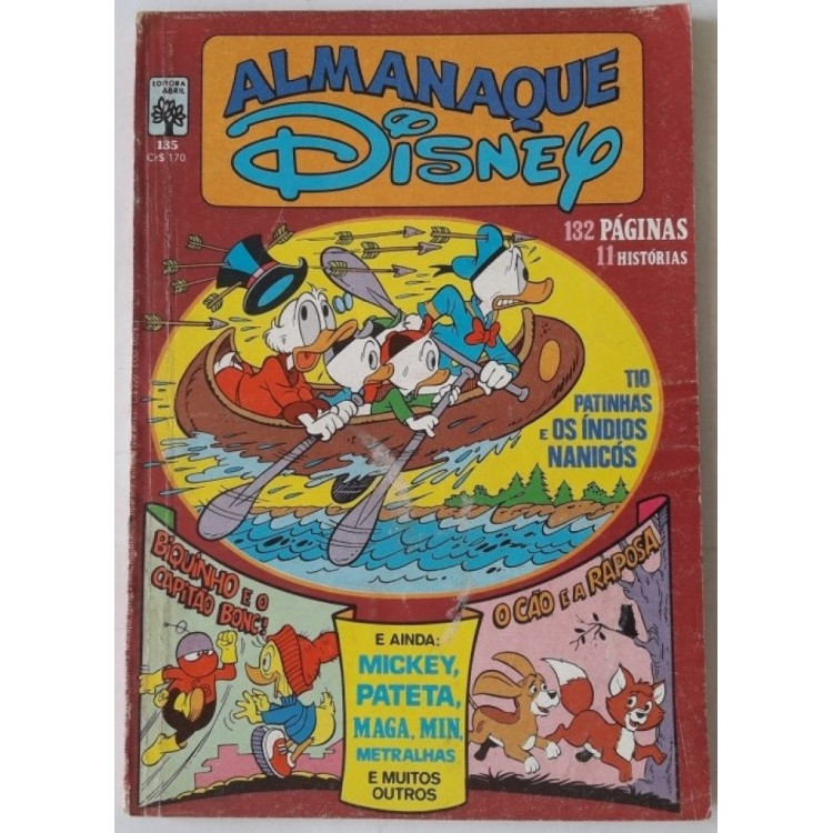 Almanaque Disney nº 135 /Abril