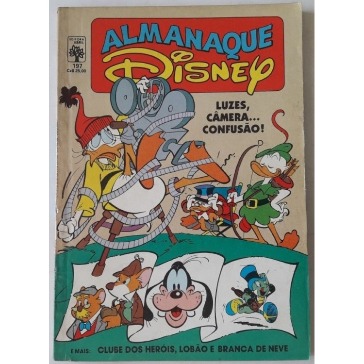 Almanaque Disney nº 197 /Abril