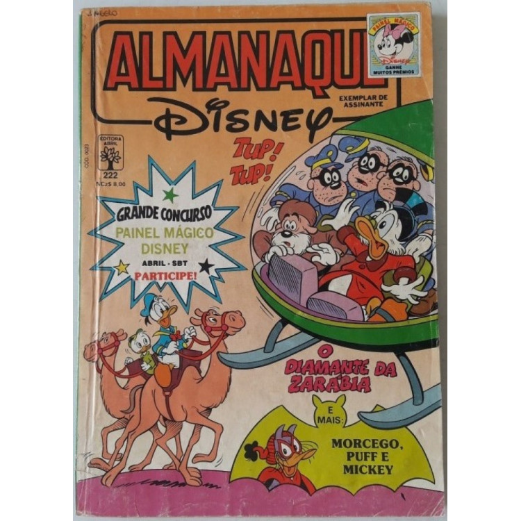 Almanaque Disney nº 222 /Abril