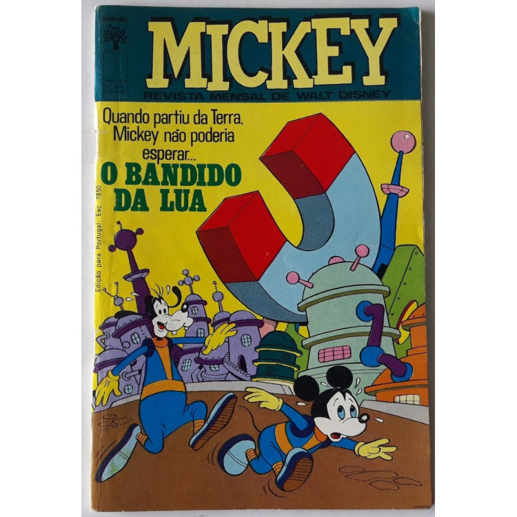Mickey nº 226 /Abril