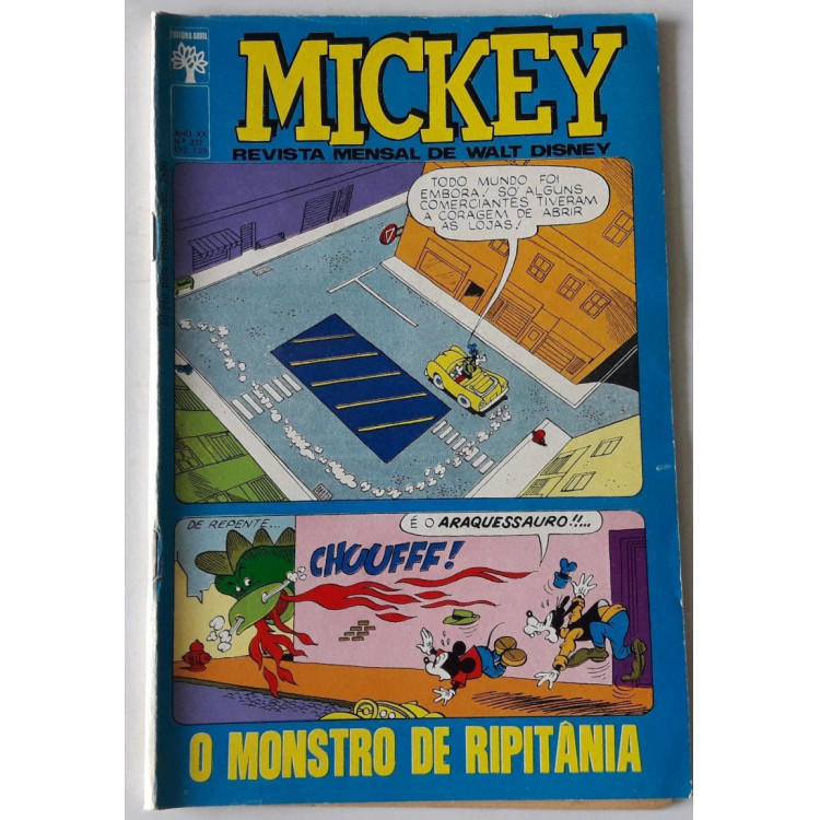 Mickey nº 232 /Abril