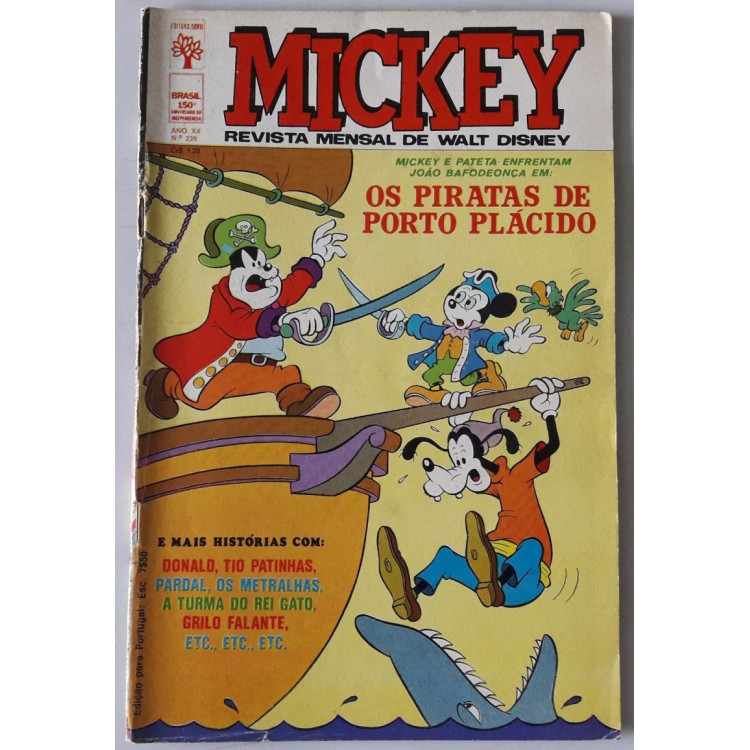 Mickey nº 239 /Abril