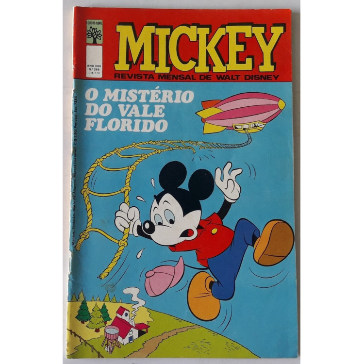 Mickey nº 265 /Abril