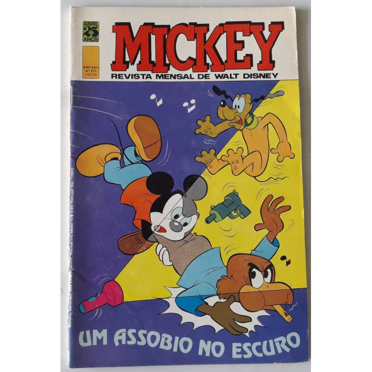 Mickey nº 271 /Abril