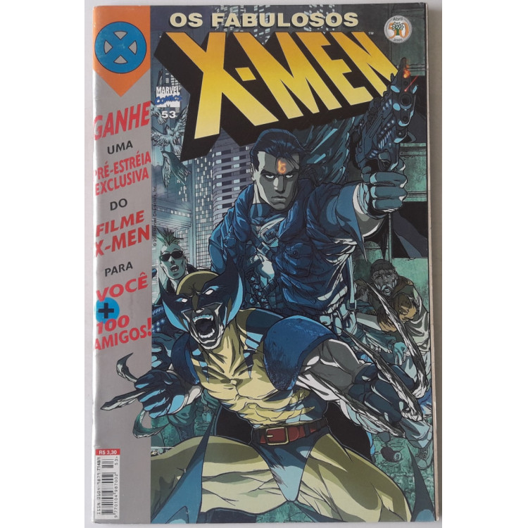 Os Fabulosos X-Men nº 53 /Abril