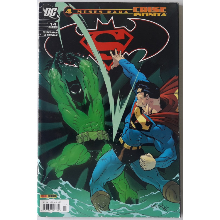 Superman & Batman nº 14 /Panini