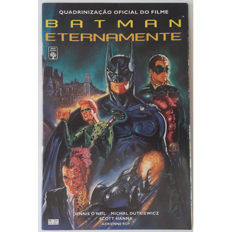 Batman Eternamente - Quadrinização Oficial do Filme /Abril