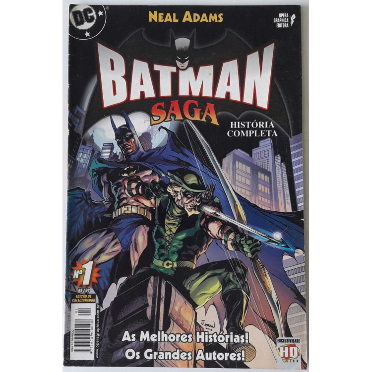 Batman Saga nº 1 /Opera Graphica