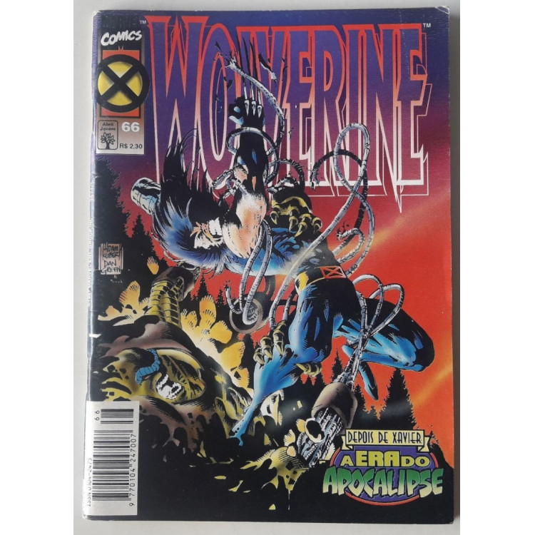 Wolverine nº 66 /Abril