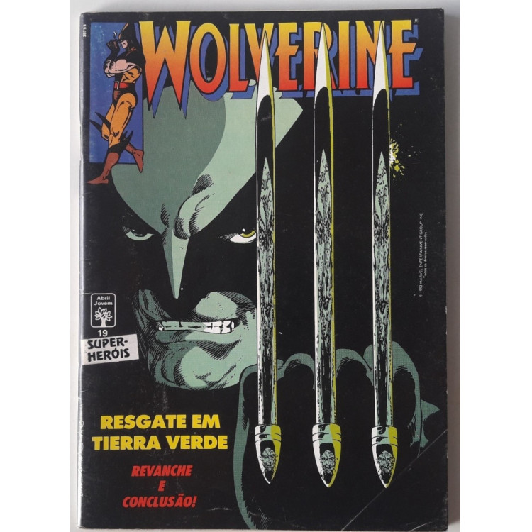 Wolverine nº 19 /Abril