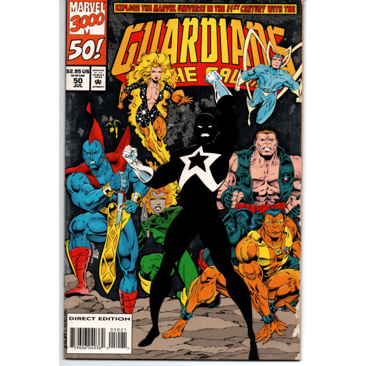 Guardians of The Galaxy Nº 50 /Marvel Comics