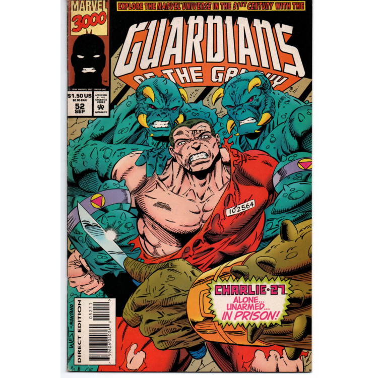 Guardians of The Galaxy Nº 52 /Marvel Comics