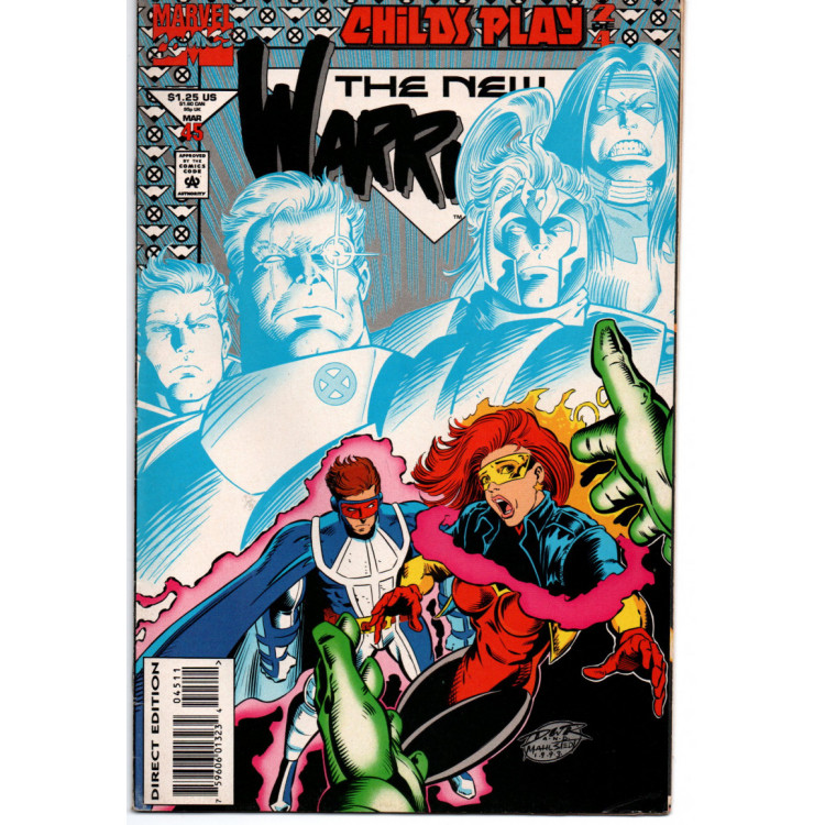 The New Warriors nº 45 /Marvel Comics