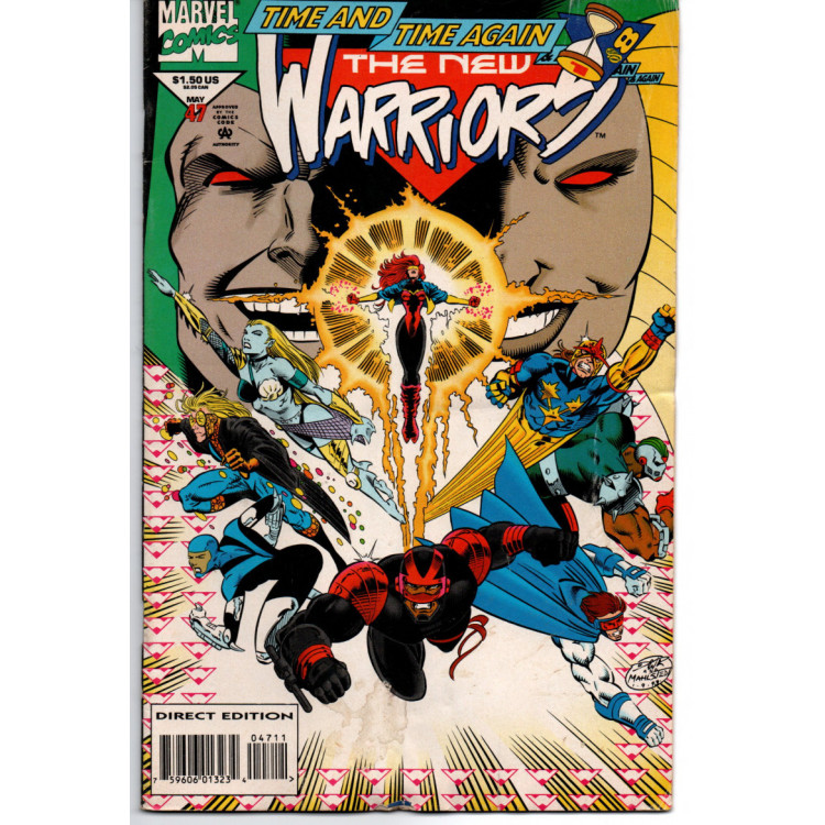 The New Warriors nº 47 /Marvel Comics