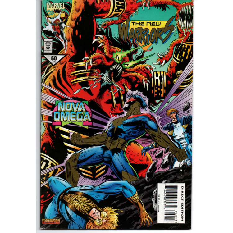 The New Warriors nº 60 /Marvel Comics
