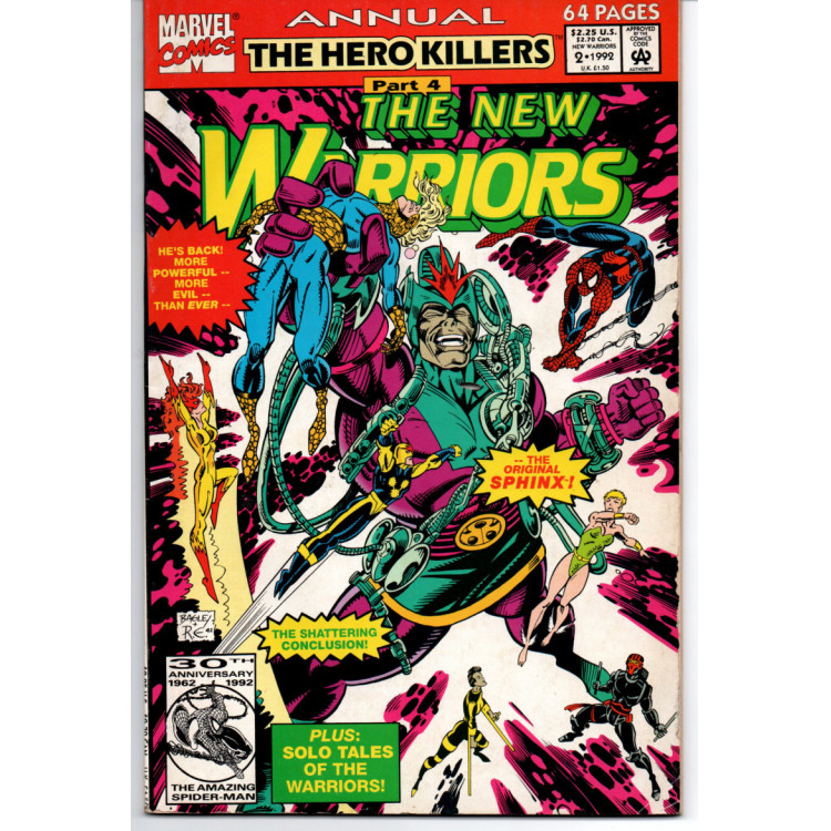 The New Warriors Annual nº 2 /Marvel Comics