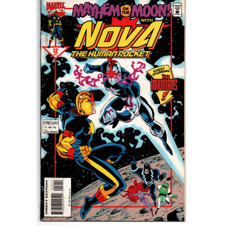 Nova Nº 12 /Marvel Comics
