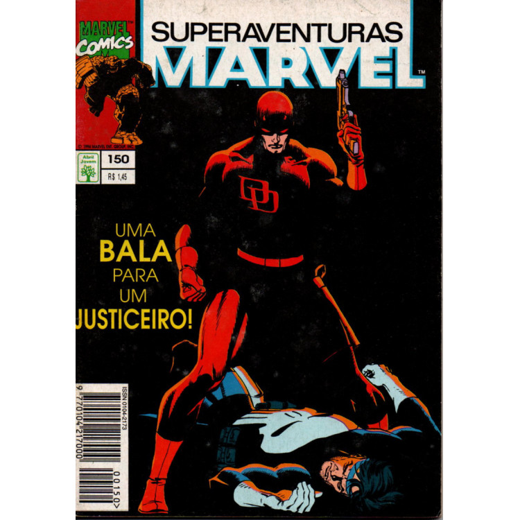 SUPERAVENTURAS MARVEL Nº 150 - EDITORA ABRIL