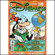 ALMANAQUE DISNEY Nº 370 - EDITORA ABRIL