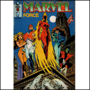MARVEL FORCE Nº 1 - EDITORA GLOBO