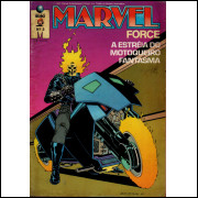 MARVEL FORCE Nº 3 - EDITORA GLOBO