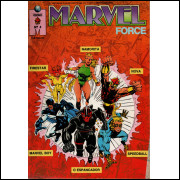 MARVEL FORCE Nº 4 - EDITORA GLOBO