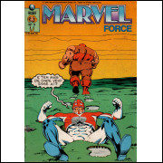 MARVEL FORCE Nº 5 - EDITORA GLOBO
