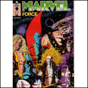 MARVEL FORCE Nº 6 - EDITORA GLOBO