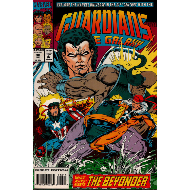 GUARDIANS OF THE GALAXY Nº 38