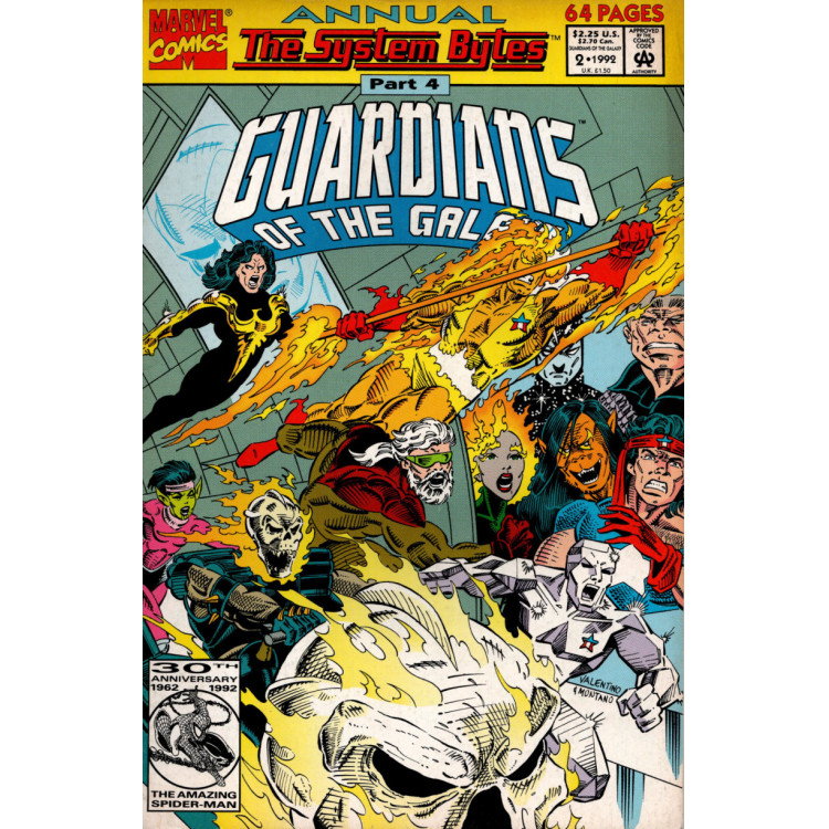 GUARDIANS OF THE GALAXY ANNUAL Nº 2
