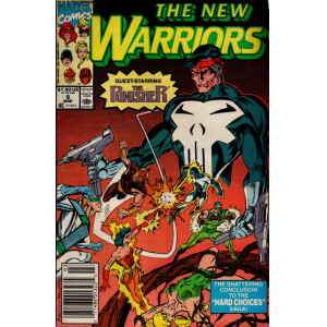 THE NEW WARRIORS Nº 9