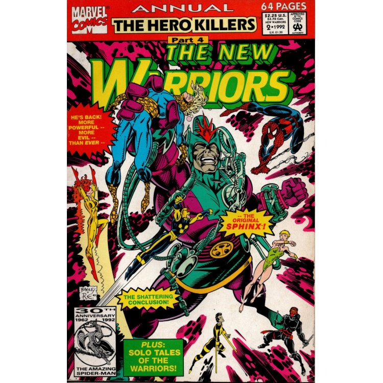THE NEW WARRIORS ANNUAL Nº 2