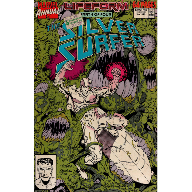 THE SILVER SURFER ANNUAL Nº 3